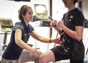 Entrenador personal con Electroestimulación Muscular