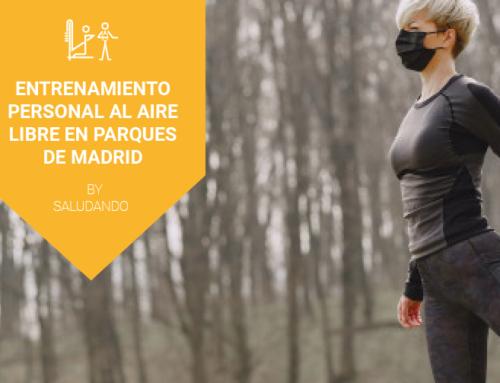 Vuelta a la rutina de entrenamiento personal en parques